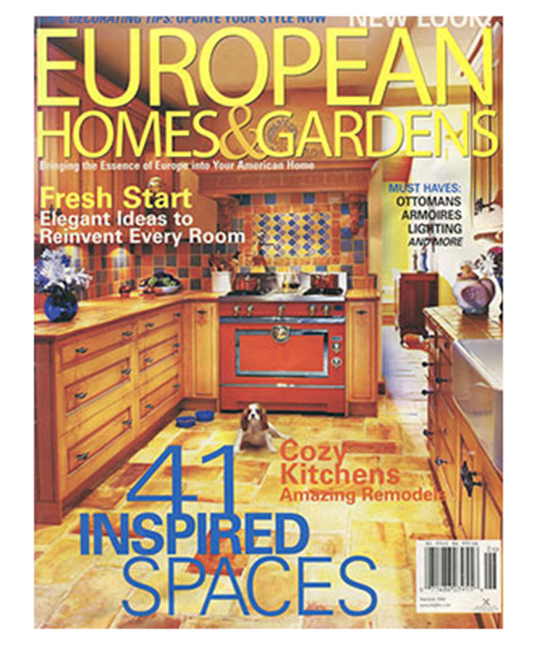 european homes and gardens
